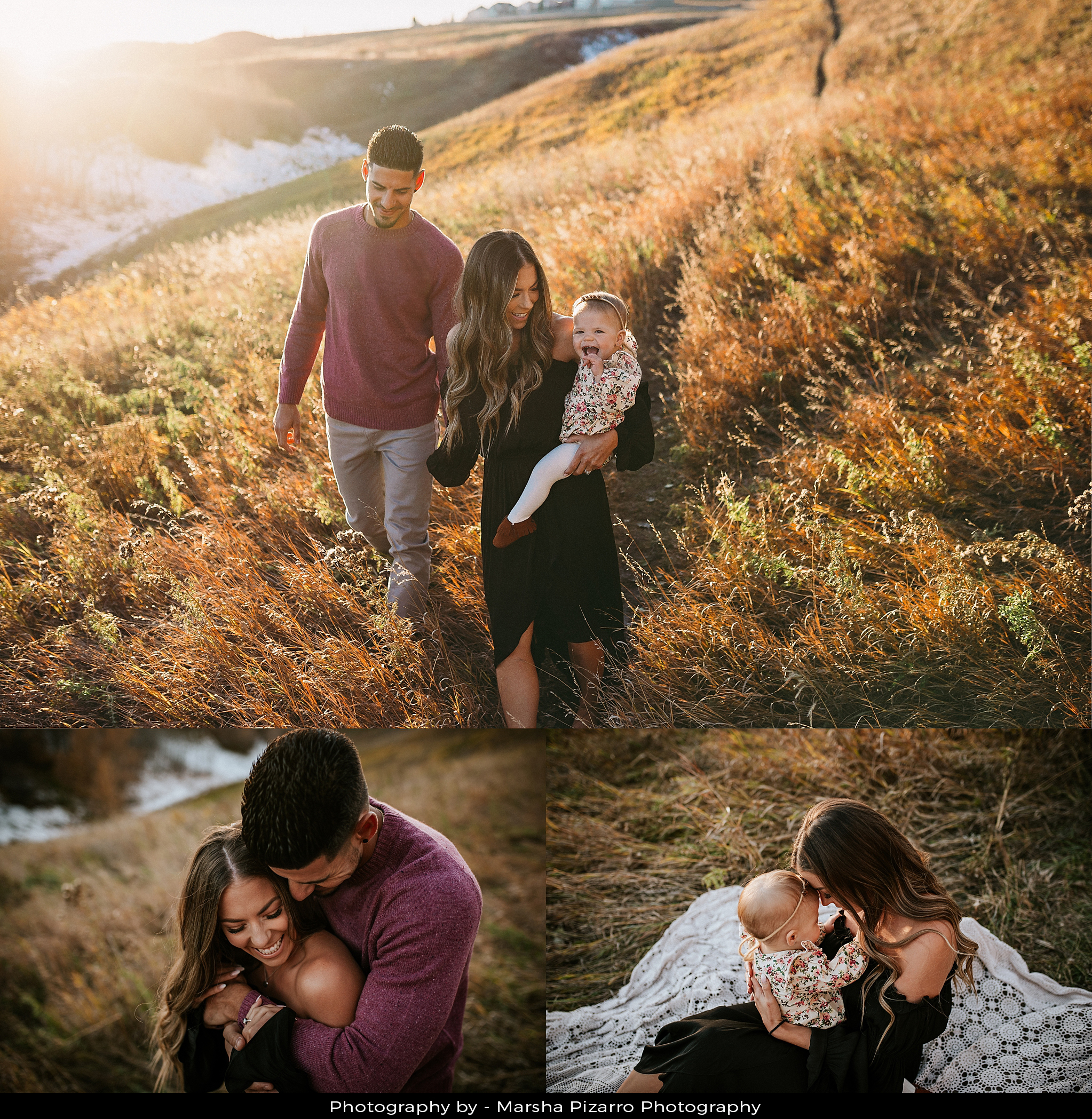 Calgary Newborn Photographer and her family