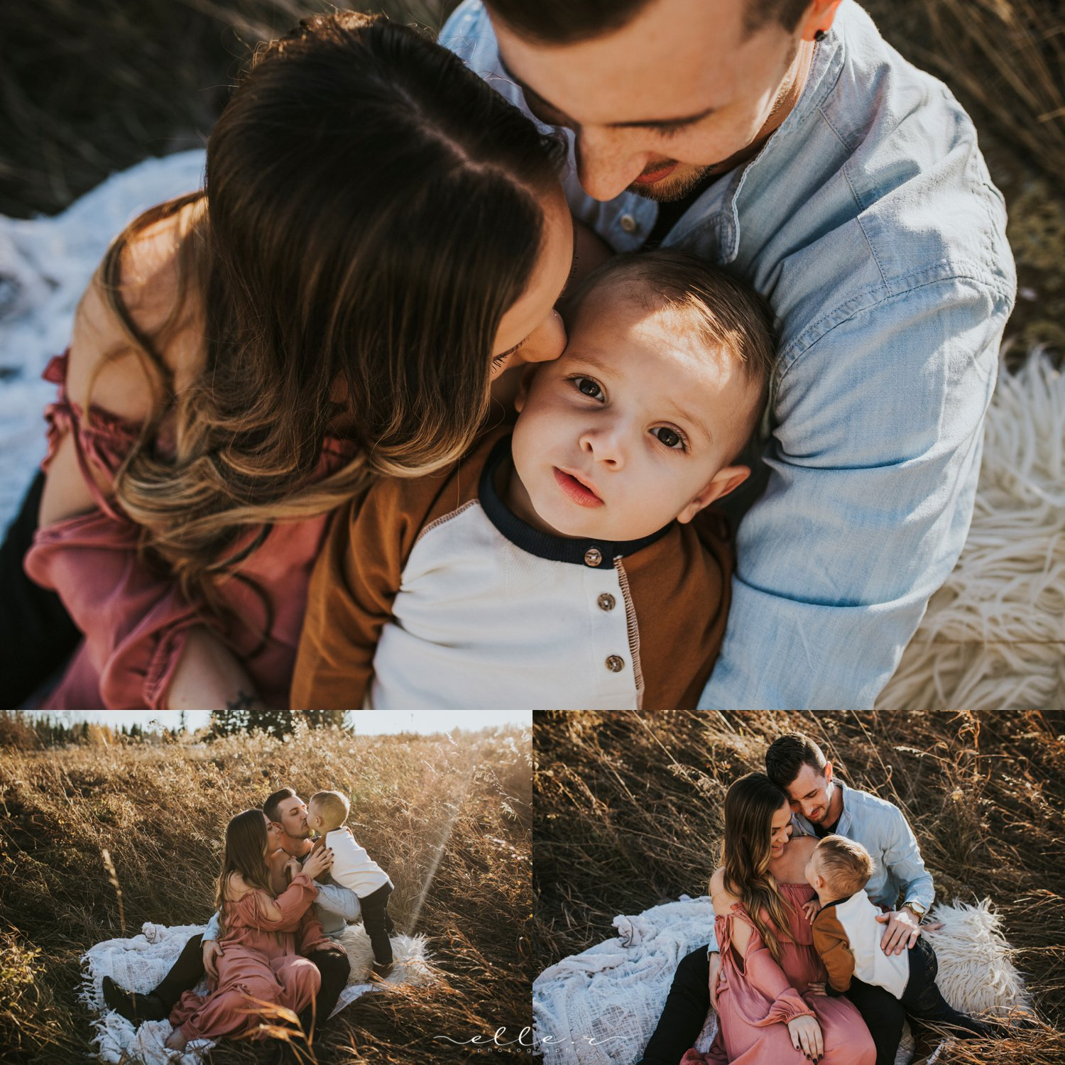 calgary sunset family photography