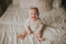 6 month baby photo session chestermere