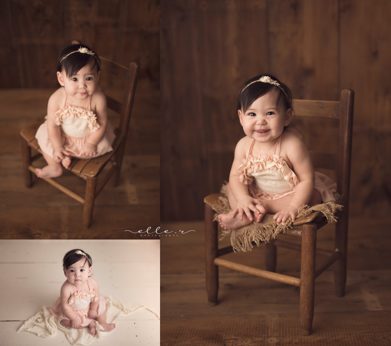 baby girl photoshoot